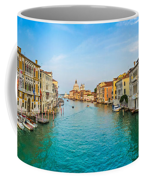 Architecture Coffee Mug featuring the photograph Famous Canal Grande In Venice by JR Photography