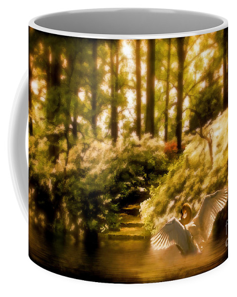 Nature Coffee Mug featuring the photograph Fantasy Land by Lois Bryan