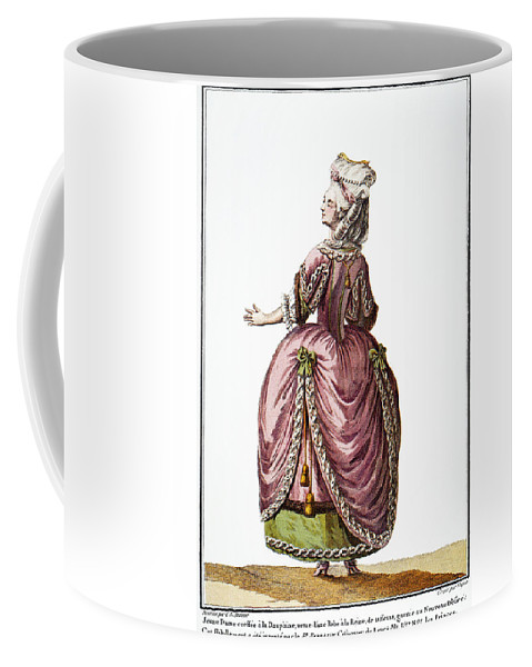 1778 Coffee Mug featuring the photograph Fashion: French, 1778 by Granger
