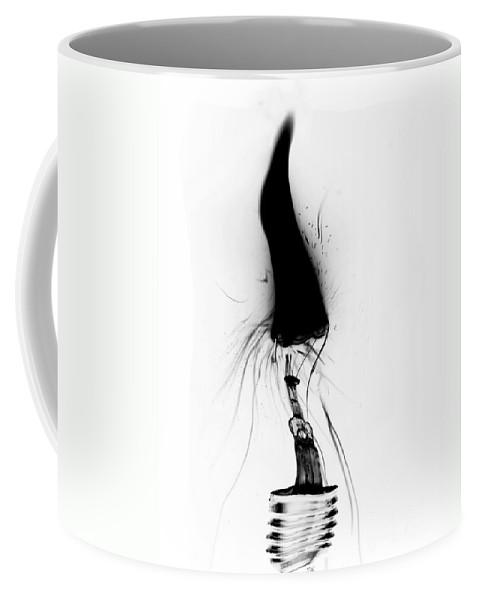 Illustration Coffee Mug featuring the digital art Fault by Michal Boubin