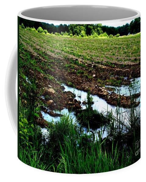 Field Coffee Mug featuring the photograph Field by Michael Grubb