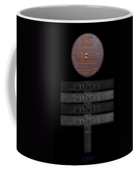 Figure Coffee Mug featuring the digital art Figure by Charles Stuart