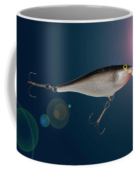 Fishing Coffee Mug featuring the photograph Fishing Lure by Donald Erickson