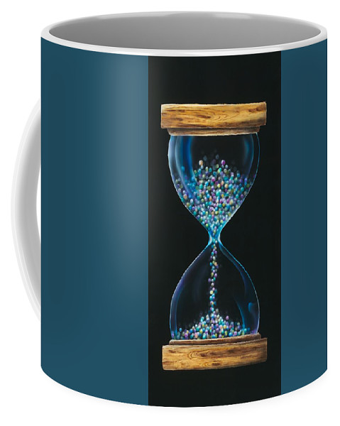 Surreal Coffee Mug featuring the painting Fleeting by Lorrie Bridges