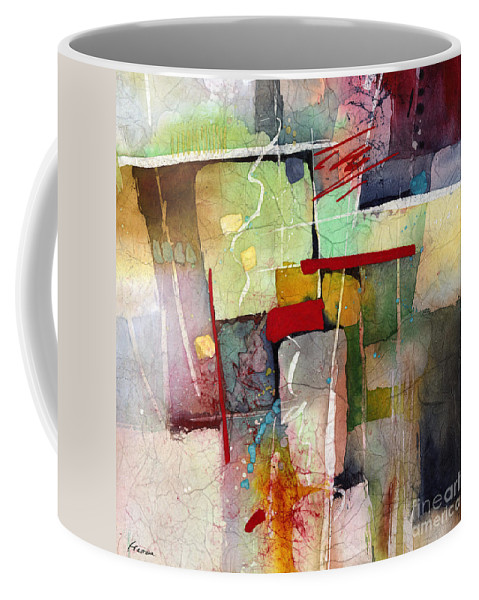 Abstract Coffee Mug featuring the painting Florid Dream by Hailey E Herrera