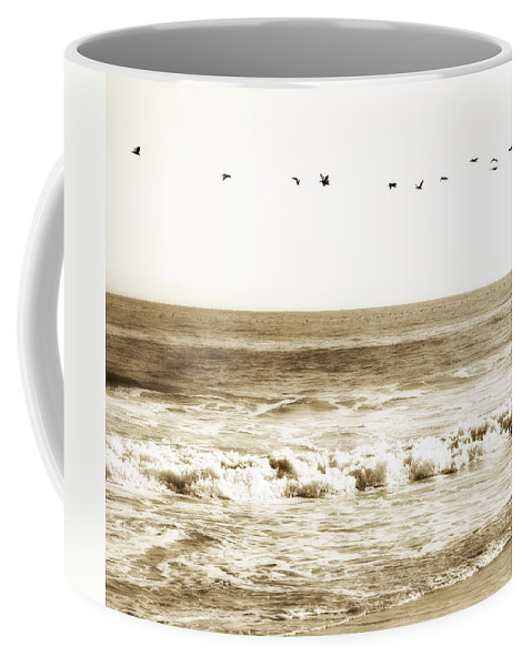 Bird Coffee Mug featuring the photograph Flying High by Marilyn Hunt