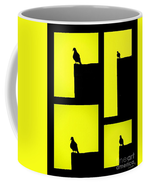 Art Coffee Mug featuring the photograph For The Birds by Linda Galok