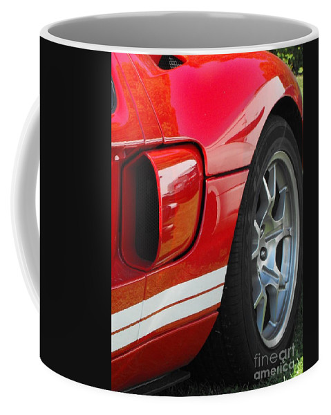 Ford.car Coffee Mug featuring the photograph Ford Gt by Neil Zimmerman