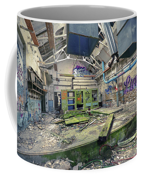 Abandoned Coffee Mug featuring the photograph Forgotten Place by Svetlana Sewell