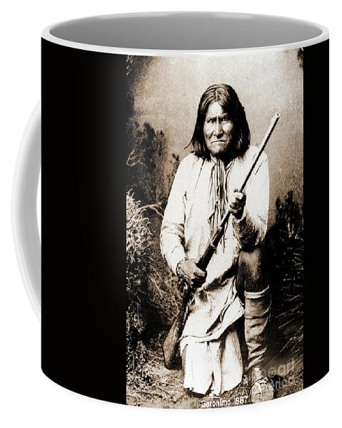 Native Coffee Mug featuring the photograph Geronimo by Gary Wonning