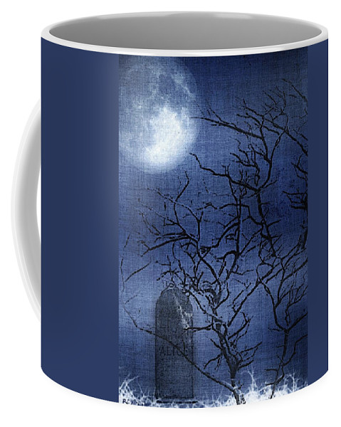 Clouds Coffee Mug featuring the painting Go Ask Alice by RC DeWinter