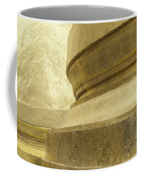 Architecture Coffee Mug featuring the photograph Gold by Anthony Totah