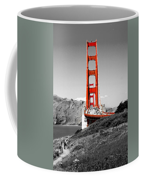 City Coffee Mug featuring the photograph Golden Gate by Greg Fortier