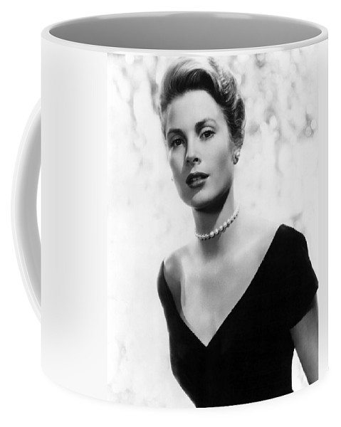 Grace Coffee Mug featuring the photograph Grace Kelly by American School