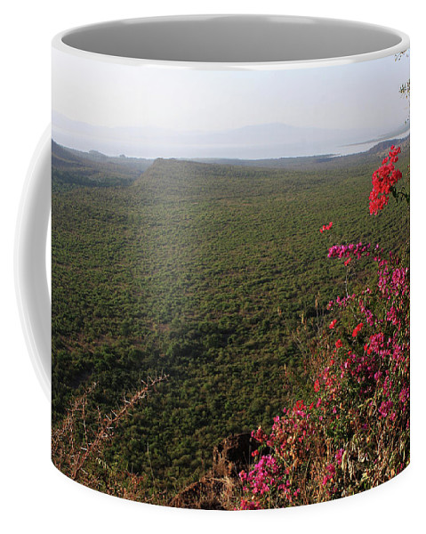 Africa Coffee Mug featuring the photograph Great Rift Valley Ethiopia by Aidan Moran