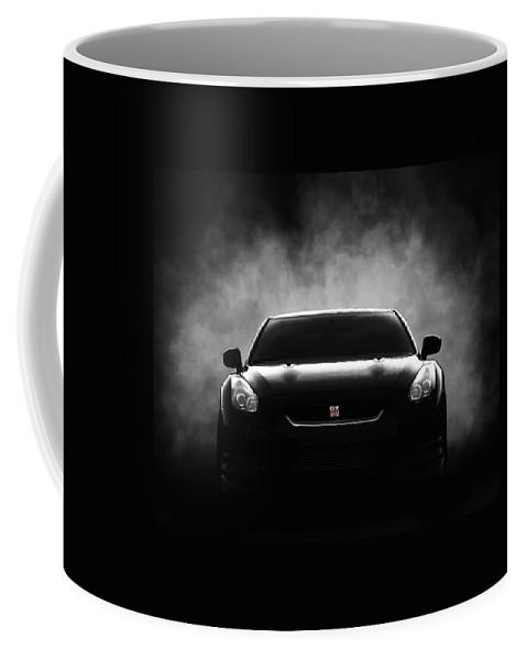 Gtr Coffee Mug featuring the digital art GTR by Douglas Pittman