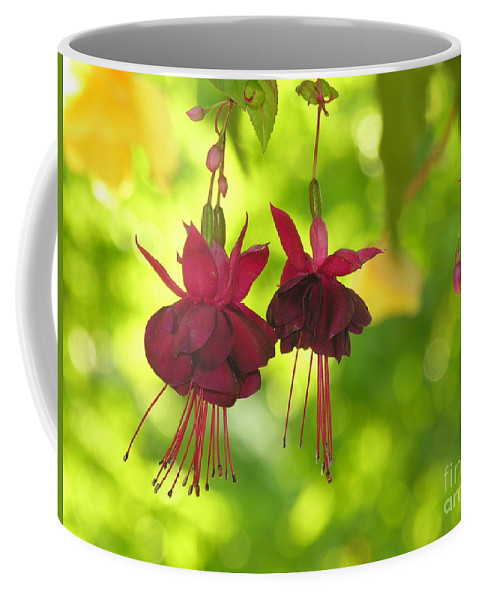 Hanging Coffee Mug featuring the photograph Hanging Around by Diane Greco-Lesser