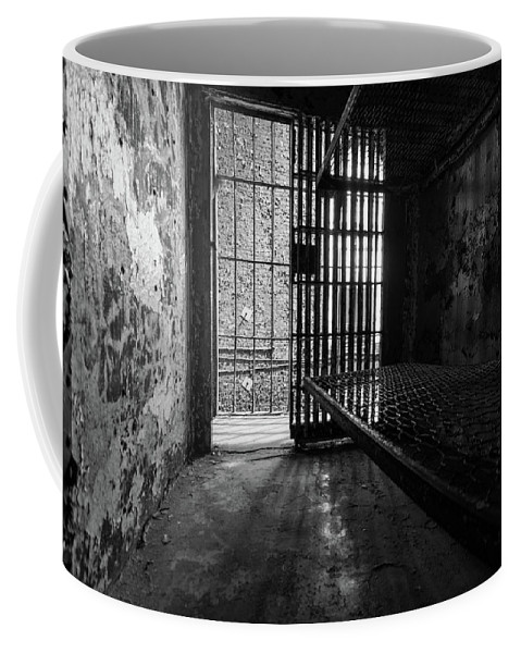 Coffee Mug featuring the photograph Hard Times by Jim Figgins