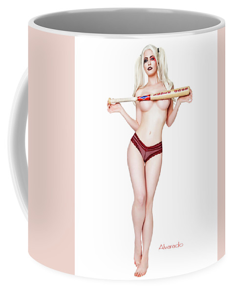 aade969e5c Harley Quinn Coffee Mug featuring the photograph Harley Bat by Robert  Alvarado