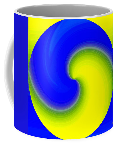 Abstract Coffee Mug featuring the digital art Harmony 22 by Will Borden