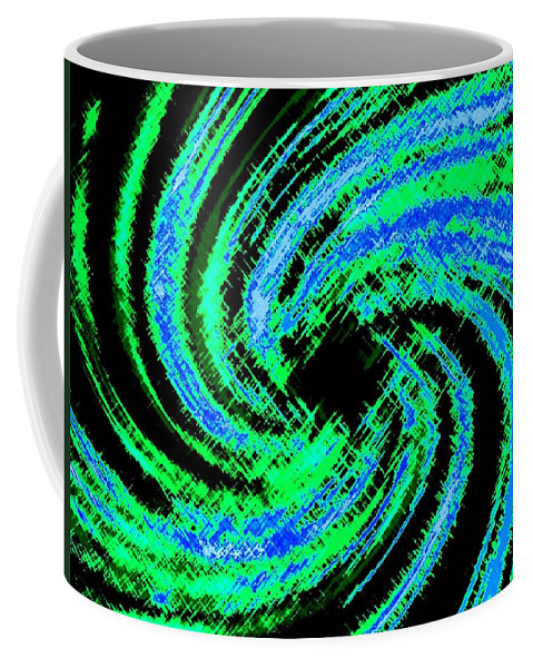 Abstract Coffee Mug featuring the digital art Harmony 24 by Will Borden
