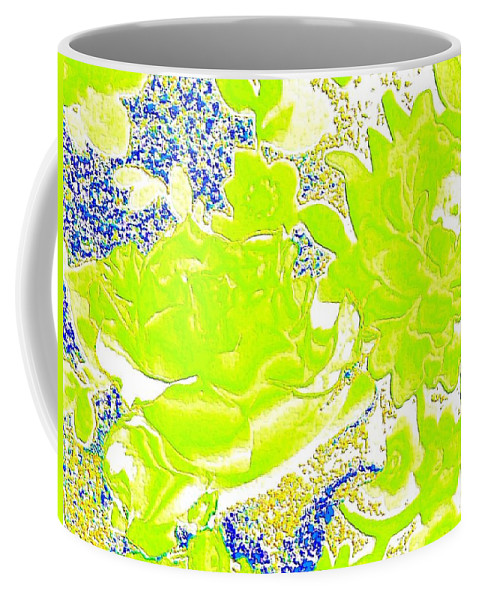 Abstract Coffee Mug featuring the digital art Harmony 31 by Will Borden
