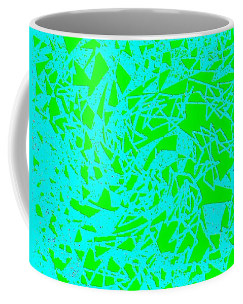 Abstract Coffee Mug featuring the digital art Harmony 8 by Will Borden