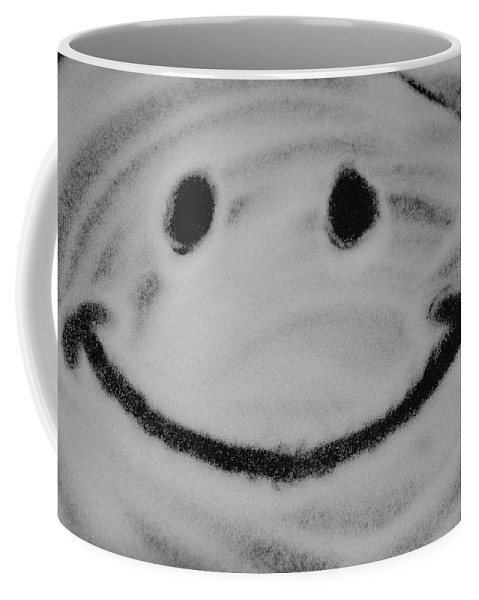 Black And White Coffee Mug featuring the photograph Have A Nice Day by Rob Hans