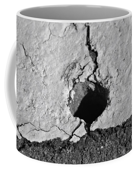 Heart-broken Coffee Mug featuring the photograph Heart Shadow 2 by Cynthia Guinn