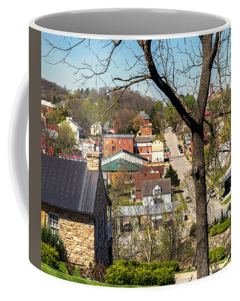 Hermann Coffee Mug featuring the photograph 1-hermann Mo Triptych Left_dsc3992 by Greg Kluempers