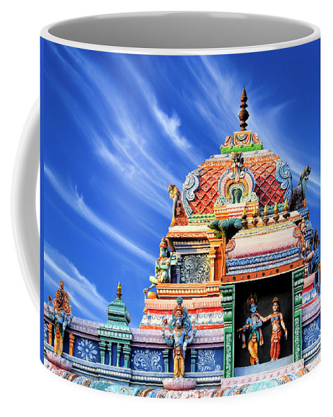 Hindu Temple Chennai India Coffee Mug For Sale By Dominic Piperata