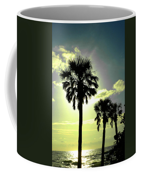 Photography Coffee Mug featuring the photograph Honeymoon Island Sunset by Susanne Van Hulst