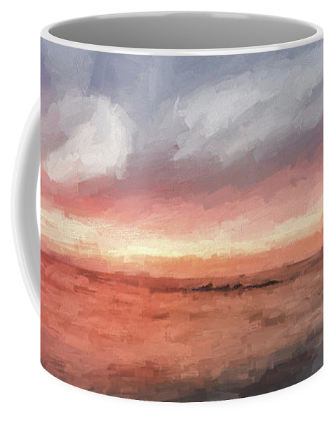 Art Coffee Mug featuring the digital art How It Can End II by Jon Glaser