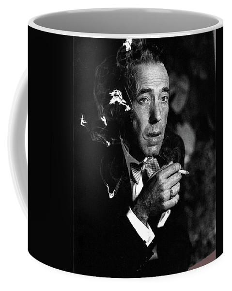 Humphrey Bogart Portrait #1 Circa 1954-2014 Coffee Mug featuring the photograph Humphrey Bogart Portrait #1 Circa 1954-2014 by David Lee Guss
