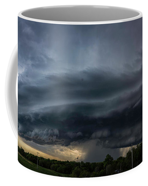 Storm Coffee Mug featuring the photograph Incoming Storm by Willard Sharp