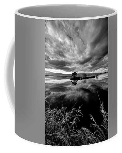 Lake Coffee Mug featuring the photograph Island by Ivan Slosar
