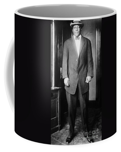 1910s Coffee Mug featuring the photograph Jack Johnson (1878-1946) by Granger