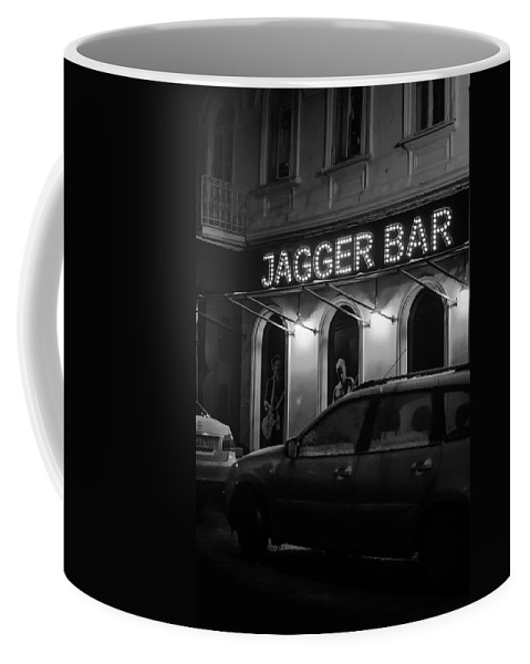 Jagger Coffee Mug featuring the photograph Jagger Bar In Ufa Russia by John Williams
