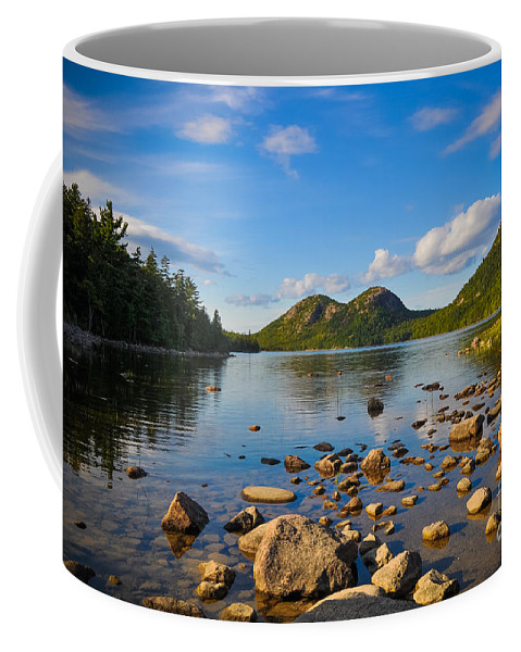 Nature Coffee Mug featuring the photograph Jordan Pond In Acadia by Anna Serebryanik