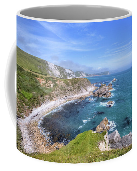Mupe Bay Coffee Mug featuring the photograph Jurassic Coast - England by Joana Kruse