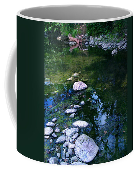 Woman Nude Photo Coffee Mug featuring the photograph Kelly Nude by Peter Piatt