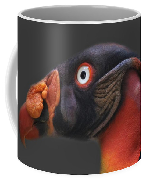 King Vulture Coffee Mug featuring the photograph King Vulture by Paulette Thomas