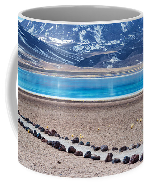 Miscanti Coffee Mug featuring the photograph Lake Miscanti In Chile by Jess Kraft