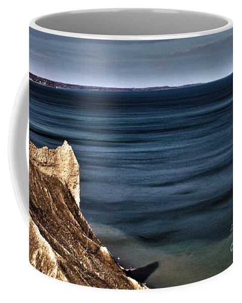 Lake Coffee Mug featuring the photograph Lake Ontario At Sodus Bay by William Norton