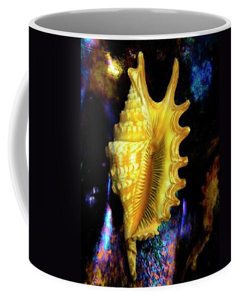 Frank Wilson Coffee Mug featuring the photograph Lambis Digitata Seashell by Frank Wilson