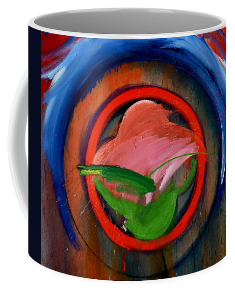 Landscape Coffee Mug featuring the painting Landscape by Charles Stuart