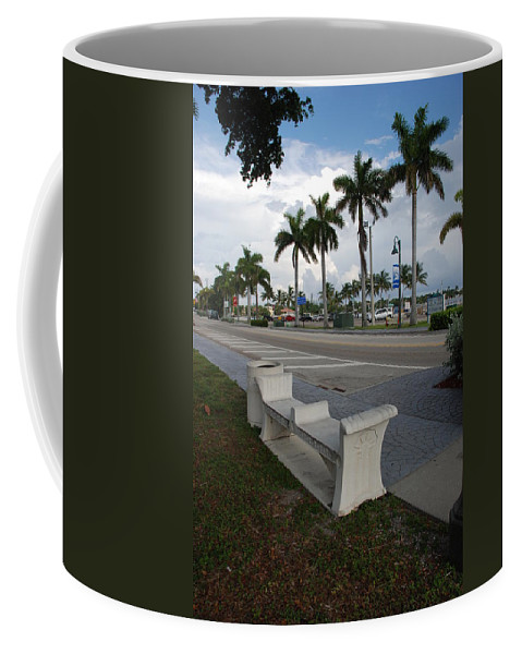 Blue Sky Coffee Mug featuring the photograph Lantana by Rob Hans