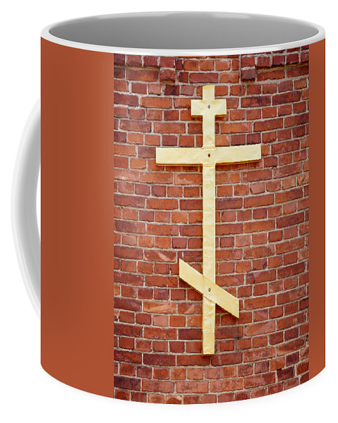 Finland Coffee Mug featuring the photograph Lappeenranta Fortress Orthodox Church by Jouko Lehto