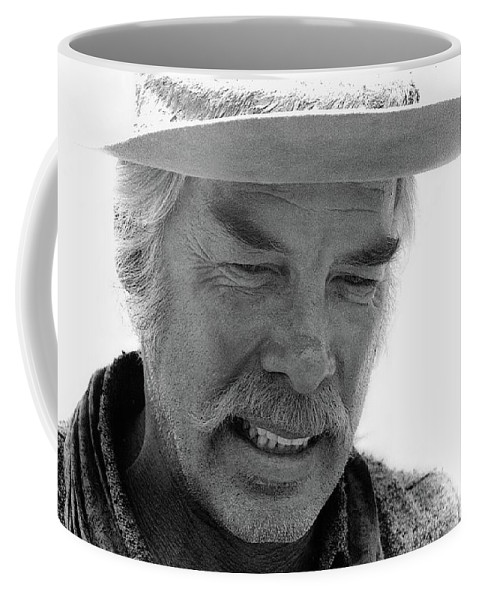 Lee Marvin Monte Walsh Set Old Tucson Arizona 1969-2008 Coffee Mug featuring the photograph Lee Marvin Monte Walsh Set Old Tucson Arizona 1969-2008 by David Lee Guss