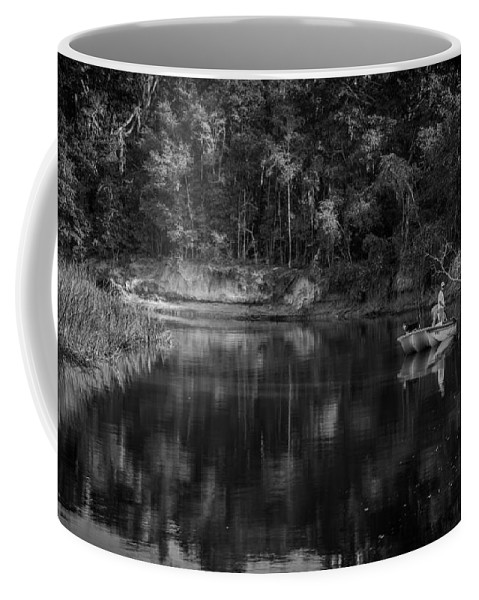 Lets Go Fishing Coffee Mug featuring the photograph Let's Go Fishing by Dale Powell